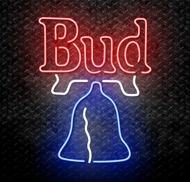 Bud Bell Neon Sign