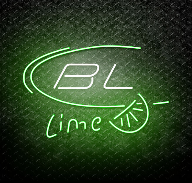 Bud Light BL Lime Beer Neon Sign