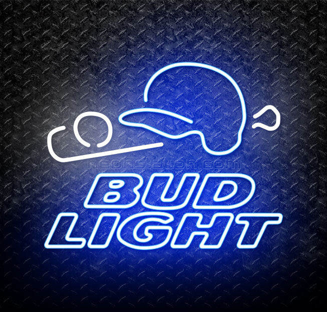 Bud Light Baseball Neon Sign