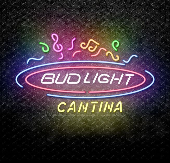 Bud Light Cantina Neon Sign