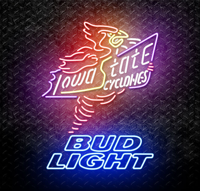 Bud Light Killer Iowa State Cyclones Neon Sign