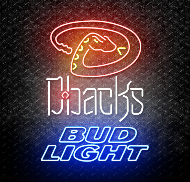Bud Light MLB Arizona Diamondbacks Neon Sign