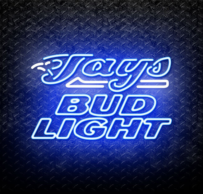 Bud Light MLB Toronto Blue Jays Neon Sign