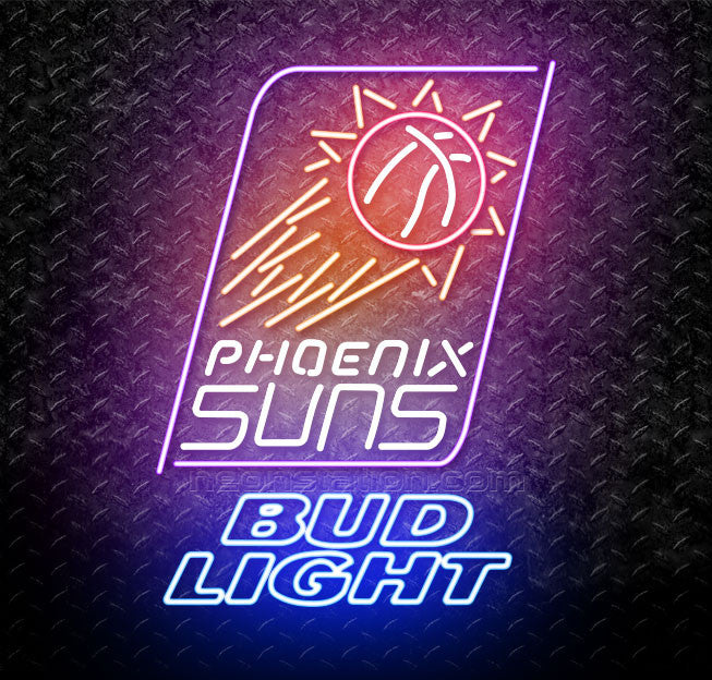 Bud Light NBA Phoenix Suns Neon Sign