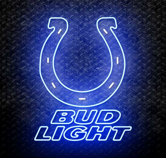 Bud Light NFL Indianapolis Colts Neon Sign