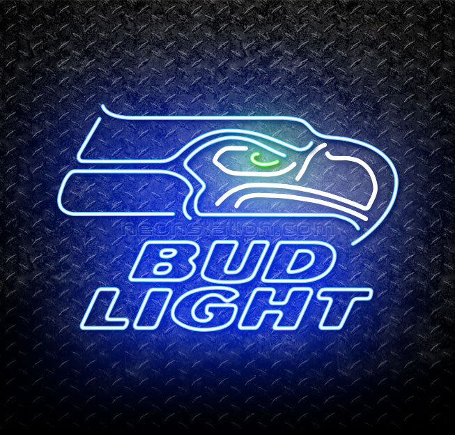 Bud Light NFL Seattle Seahawks Neon Sign