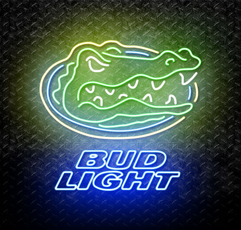 Bud Light University of Florida Neon Sign