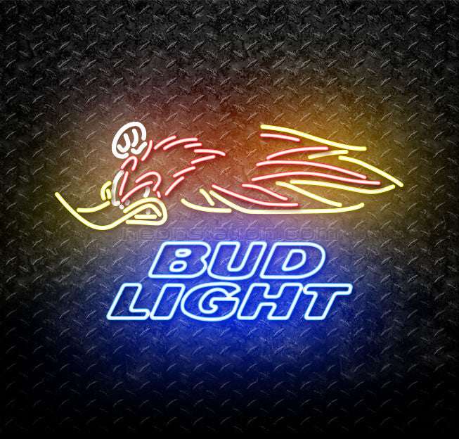 Bud Light Woody Woodpecker Crf Neon Sign