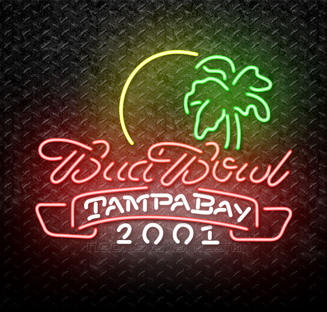 Budbowl Tampa Bay Neon Sign