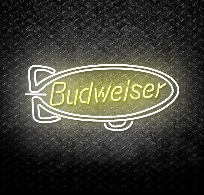Budweiser Blimp Neon Sign