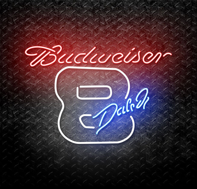 Budweiser Dale Jr. 8 Neon Sign