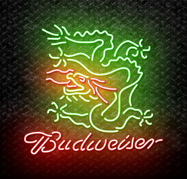 Budweiser Dragon Neon Sign