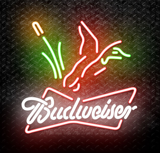 Budweiser Duck Hunting Neon Sign