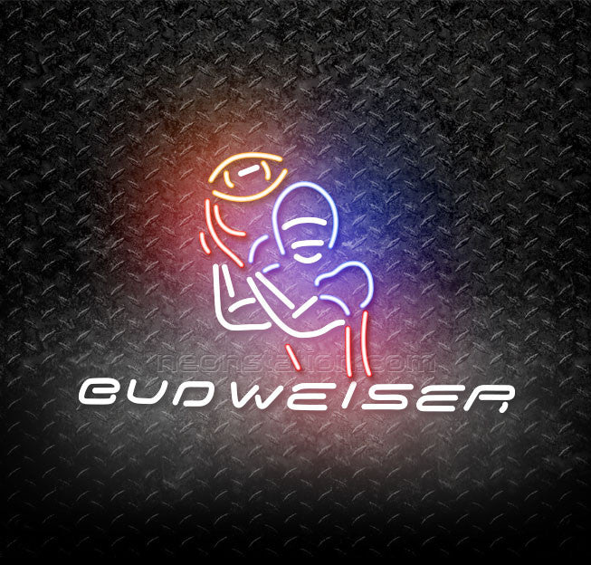 Budweiser Football Game Time Neon Sign