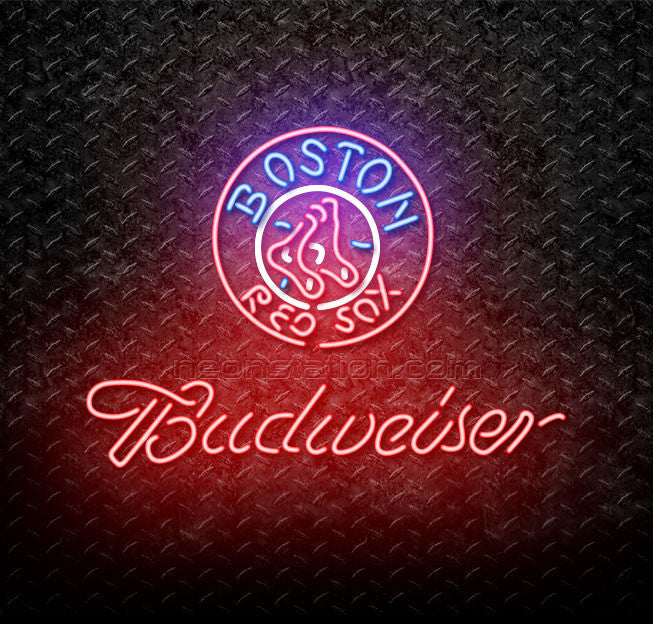 Budweiser MLB Boston Red Sox Neon Sign