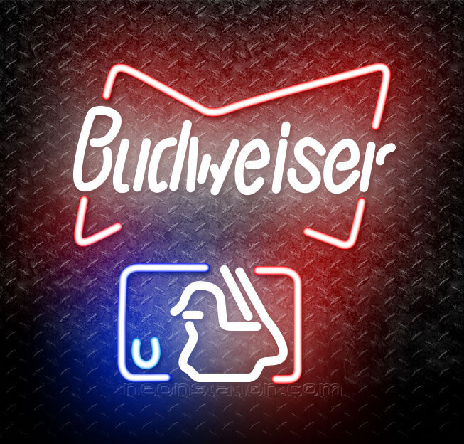 Budweiser MLB Neon Sign