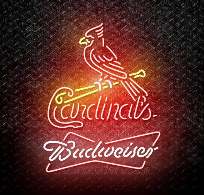 Budweiser MLB Neon St Louis Cardinals Neon Sign