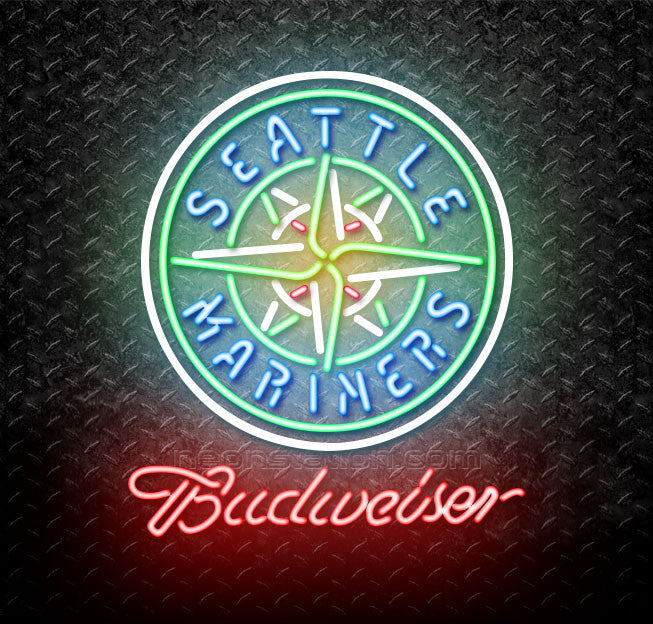 Budweiser MLB Seattle Mariners Neon Sign