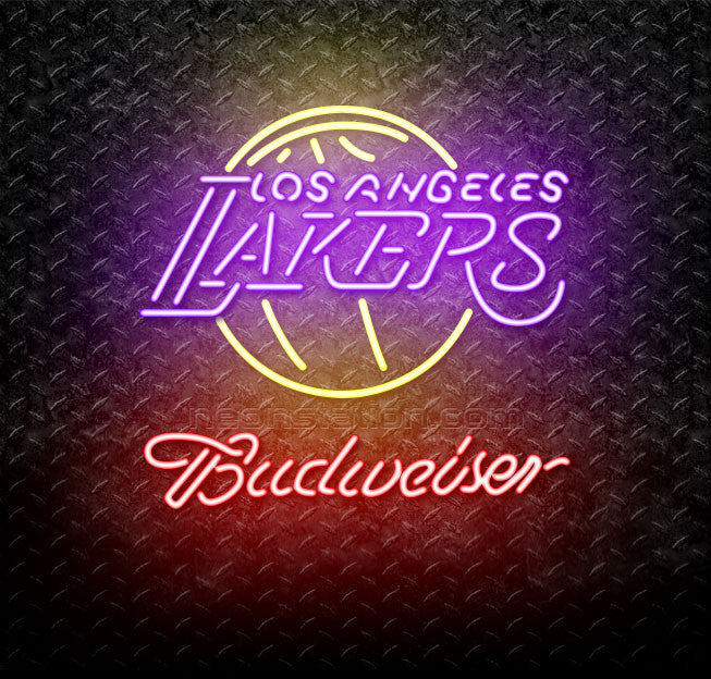 Budweiser NBA Los Angeles Lakers Neon Sign