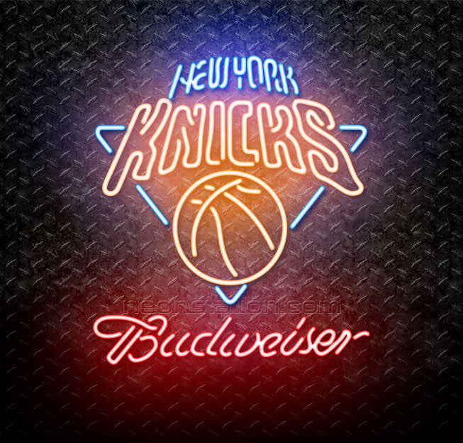 Budweiser NBA New York Knicks Neon Sign