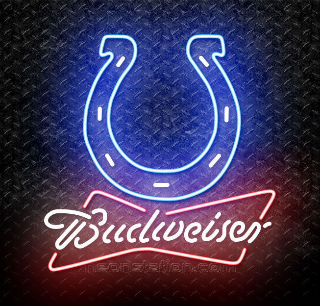 Budweiser NFL Indianapolis Colts Neon Sign