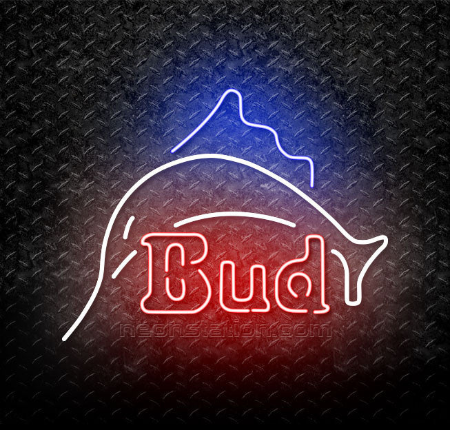 Budweiser Sailfish Neon Sign