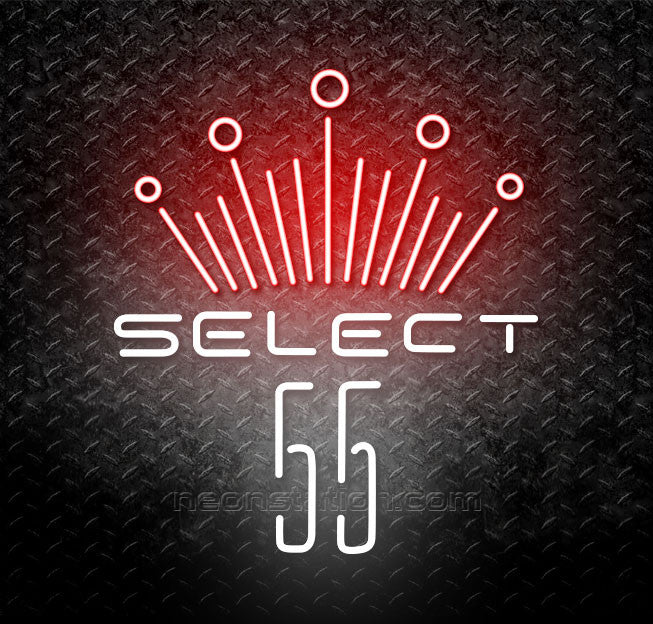 Budweiser Select 55 Neon Sign