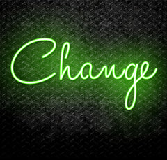 Change Neon Sign