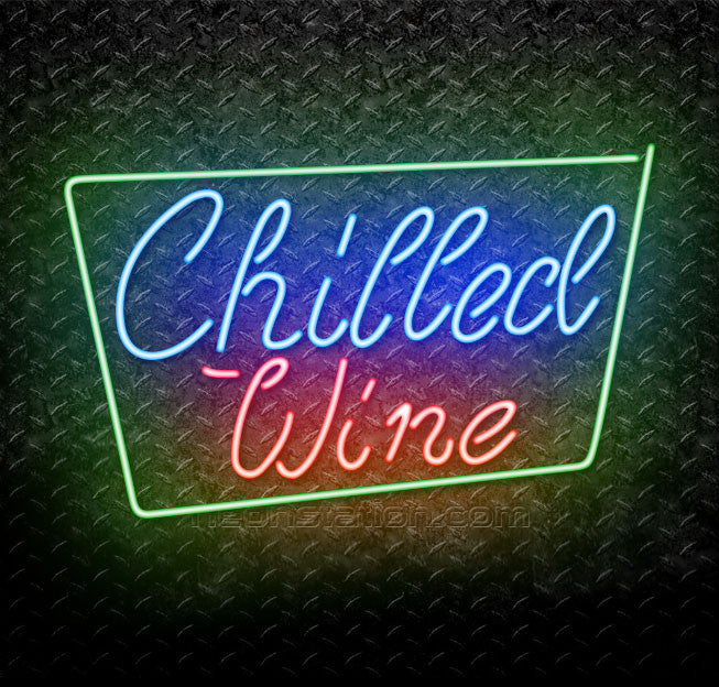 Chilled Wine Neon Sign