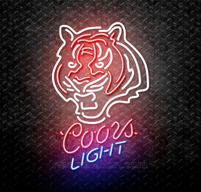 94d38878 Coors Light NFL Cincinnati Bengals Neon Sign