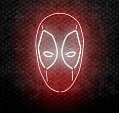 Deadpool Logo Neon Sign