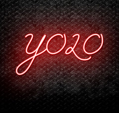 YOLO You Only Live Once Neon Sign