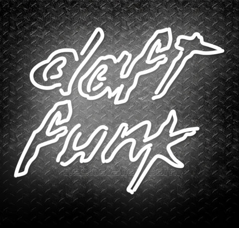 Daft Punk Daft Funk Neon Sign