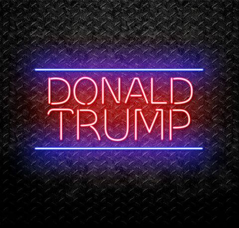 Donald Trump Neon Sign