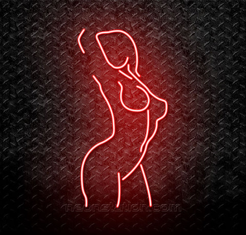 Erotic Dancer Girl Neon Sign