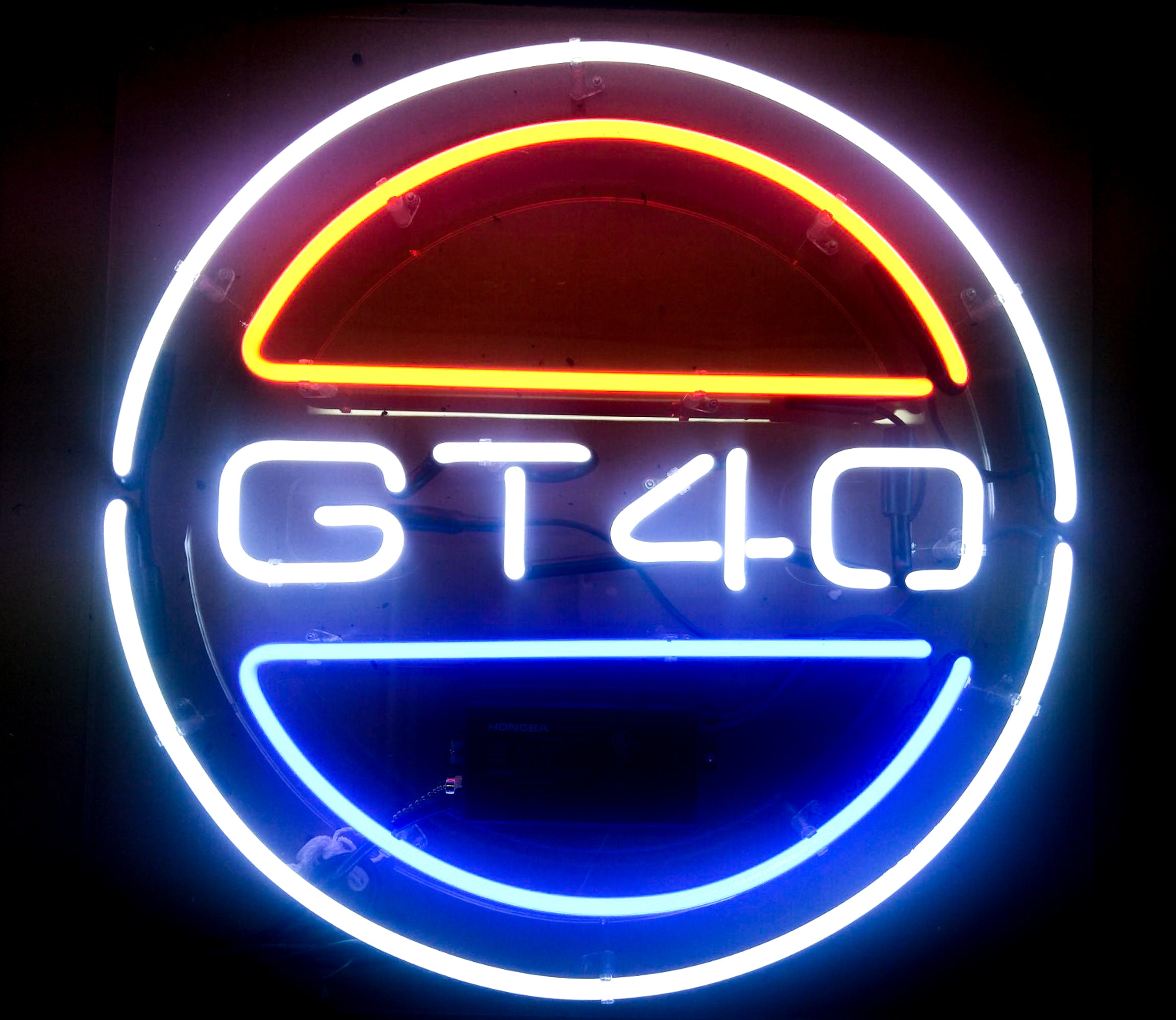 Ford GT40 Neon Sign