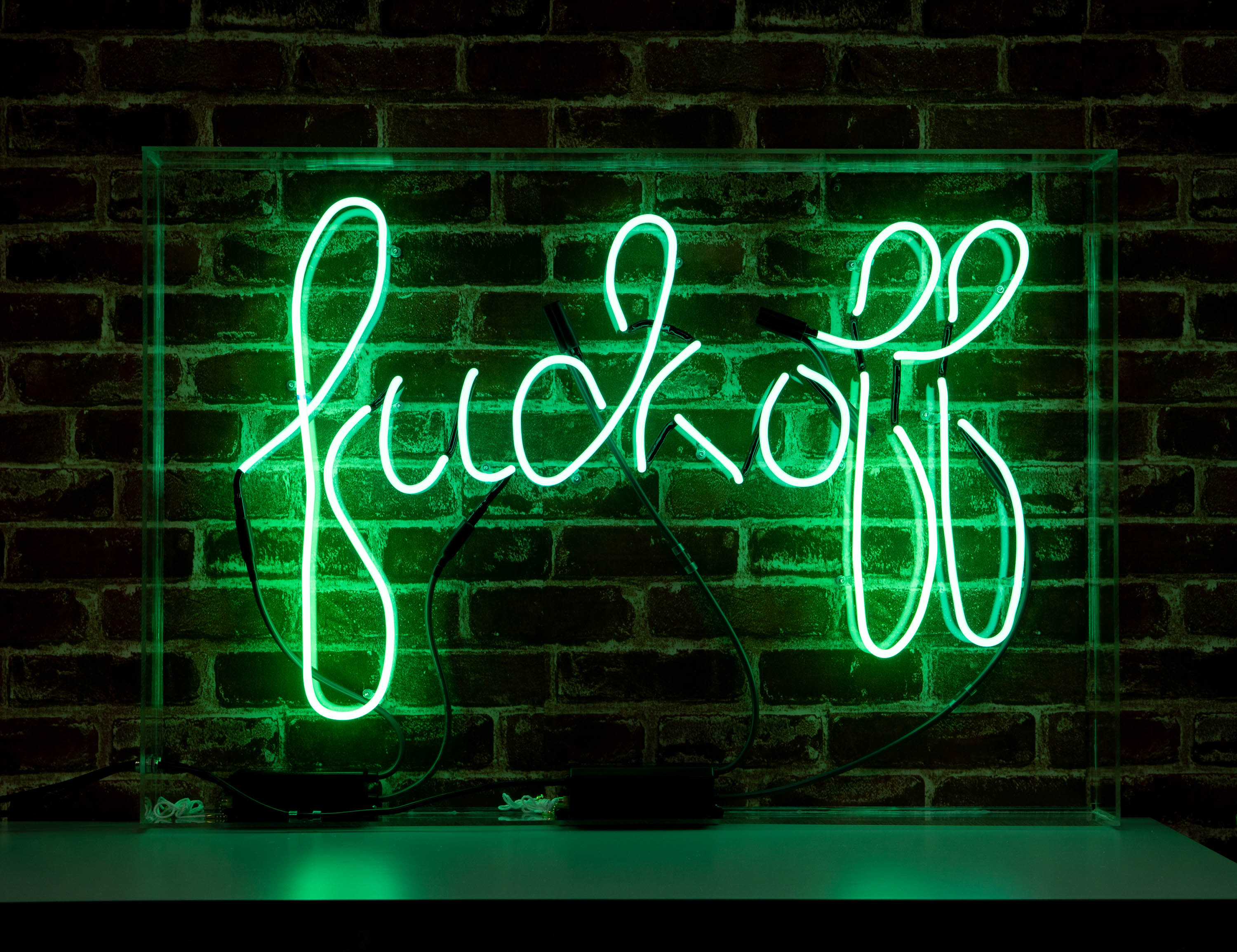 Fuck Off Neon Sign