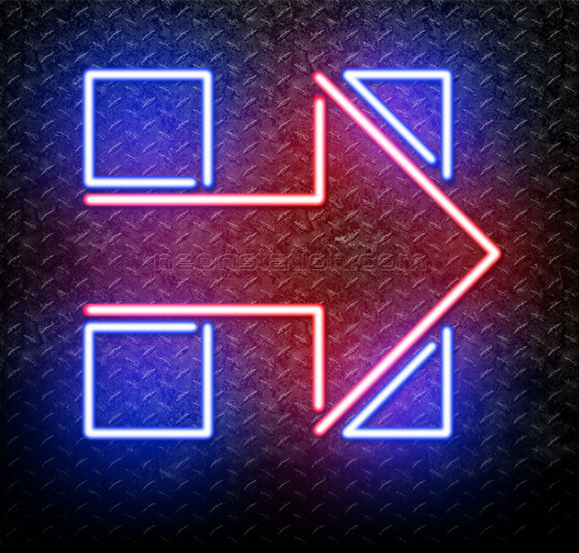 Hillary Clinton Logo Neon Sign