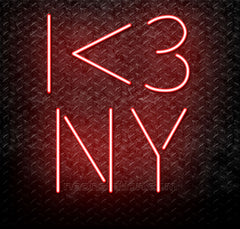I Love New York Neon Sign