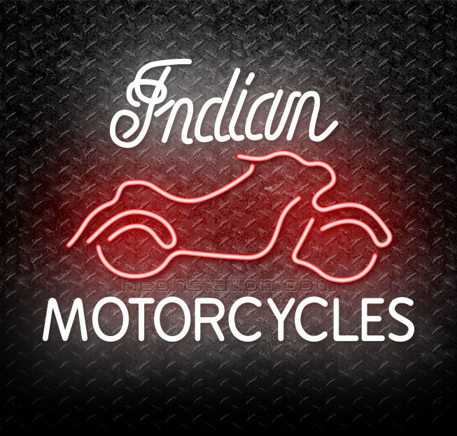 Indian Motorcycles Neon Sign