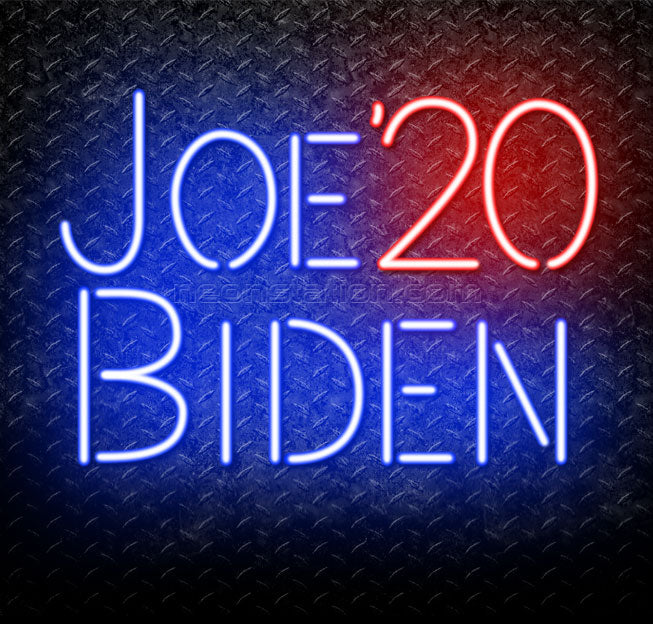 Joe Biden 2020 Neon Sign