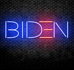 Joe Biden Neon Sign