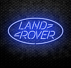 Land Rover Neon Sign