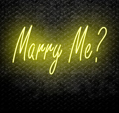 Marry Me? Neon Sign