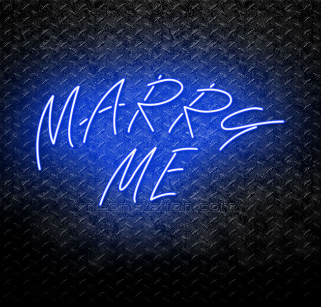 Marry Me Neon Sign