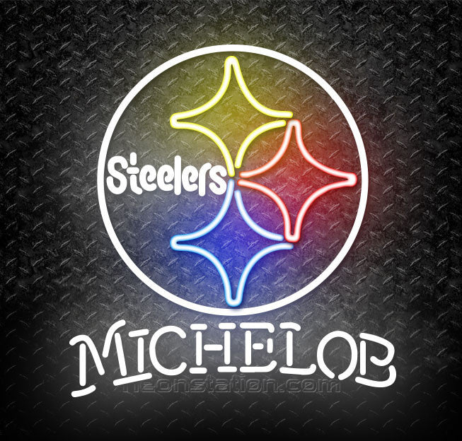 Michelob NFL Pittsburgh Steelers Neon Sign