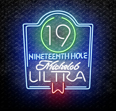 Michelob Ultra 19th Hole Neon Sign