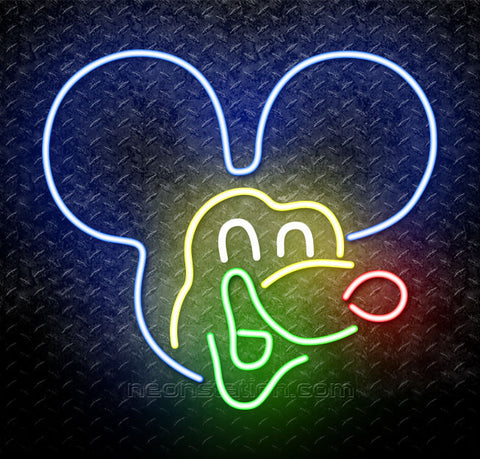 Mickey Mouse Neon Sign