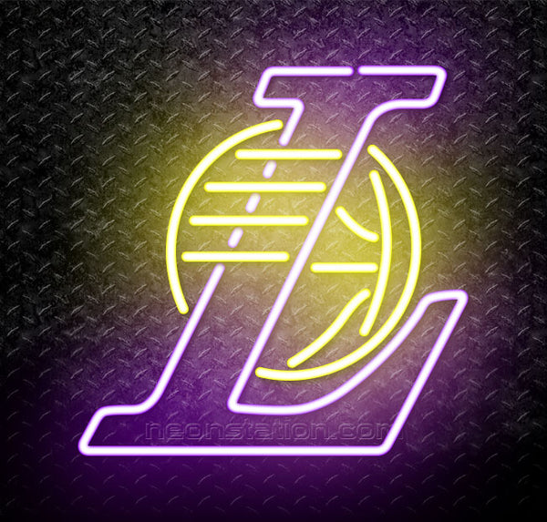 Nba Los Angeles Lakers Logo Neon Sign For Sale Neonstation