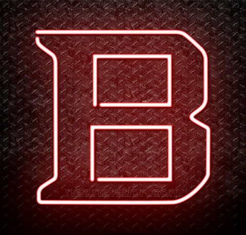 NCAA Bradley Braves Logo Neon Sign